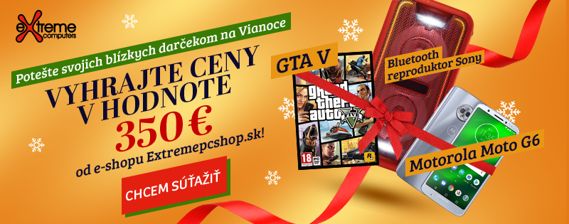 Súťaž s Extremepcshop.sk