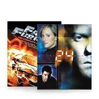 Akčné a dobrodružné filmy DVD