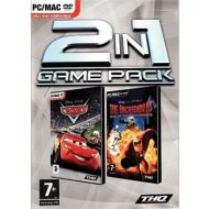 2 in 1 Game Pack: Cars + The Incredibles: Rise of the Underminer
