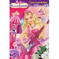 Barbie - Princezná a speváčka - Čítanie so samolepkami
