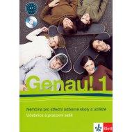 Genau! 1 - Němčina pro SOŠ a učiliště (Učebnice + PS + 2CD)