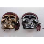 Maska pirátska lebka