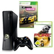 XBOX 360 250GB +hry: Forza3, Pure