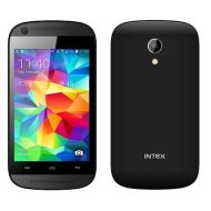 Intex Aqua T2, Dual Sim, Black