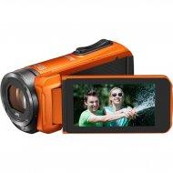 JVC GZ R315D ??FULL HD digitálny vodotesná videokamera, oranžová 35046122