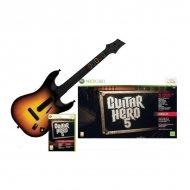 Guitar Hero 5 + gitara XBOX 360