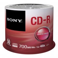 Sony 50CDQ80SP - CD-R 700MB 48x, spindle, 50ks