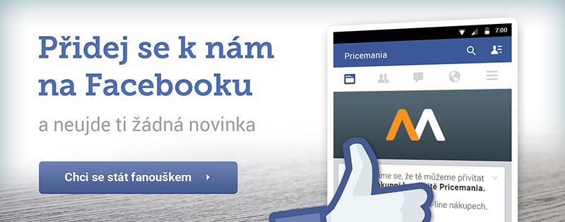 Nejlepší nabídky jsou na naší Facebook stránce