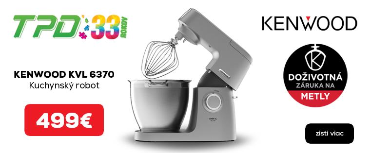 Kuchynský robot Kenwood + VYHRAJ PEUGEOT 208