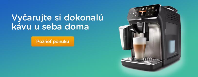 Vyčarujte si dokonalú kávu u seba doma