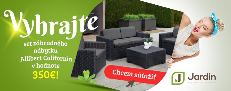 Jardin - súťaž o záhradný nábytok