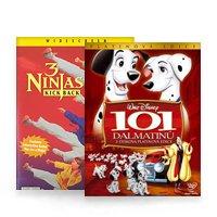 Animované filmy a seriály DVD