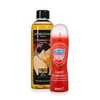 Lubrikačné gély a masážne oleje