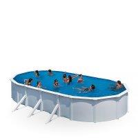 Oválne bazény s pevnou konštrukciou
