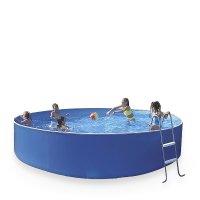 Kruhové bazény s pevnou konštrukciou