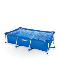 Obdĺžnikové bazény s pevnou konštrukciou