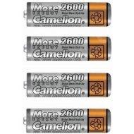 Camelion NiMH 2600mAh AA 4ks