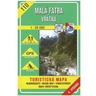 Malá Fatra - Vrátna 1:50 000 - turistická mapa č. 110