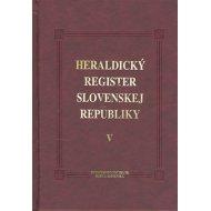 Heraldický register Slovenskej republiky V