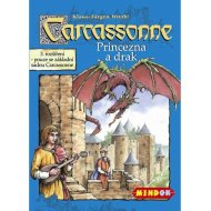 Mindok Carcassonne - Princezná a drak