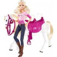 Mattel Barbie a kôň