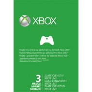 Microsoft Xbox 360 Live 3-Month Gold Subscription Card