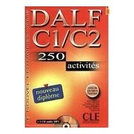 DALF C1/C2 250 activités Livre + CD Audio MP3