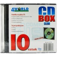 4World CD Box Slim 10ks