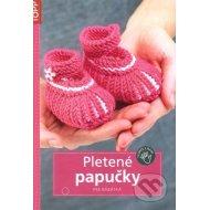 Pletené papučky pre bábätká