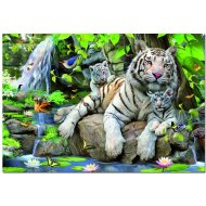 Educa Biely bengálsky tiger - 1000