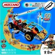 Meccano Multi Models 50 - Autožeriav motor 6V