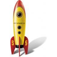 Big Teaze Toys Retro Pocket Rocket Yellow