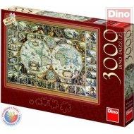 Dino Mapa sveta - 3000