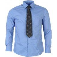 Pierre Cardin Plain Shirt and Tie Set