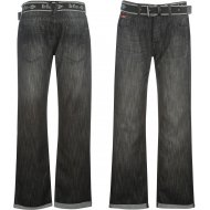 Lee Cooper Belted Jeans