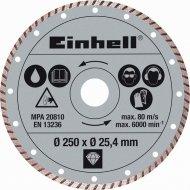 Einhell Turbo diamantový 250mm/25.4mm