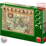Dino Mapa sveta - 2000