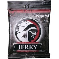 Indiana Jerky Dried Meat Beef Peppered 25g