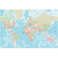 Dimex Politická mapa sveta 330x220cm