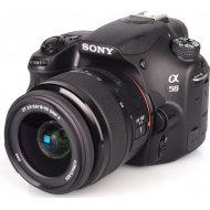 Sony Alpha SLT-A58 + 18-55mm