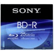 Sony 3BNR25SL BD-R 25GB 3ks