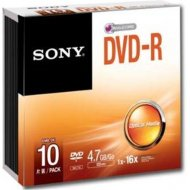Sony 10DMR47SS DVD-R 4.7GB 10ks