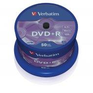 Verbatim 43550 DVD+R 4.7GB 50ks
