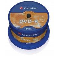 Verbatim 43548 DVD-R 4.7GB 50ks