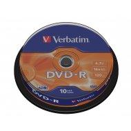 Verbatim 43523 DVD-R 4.7GB 10ks