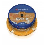 Verbatim 43522 DVD-R 4.7GB 25ks
