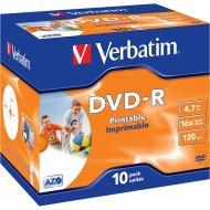 Verbatim 43521 DVD-R 4.7GB 10ks