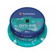 Verbatim 43639 DVD-RW 4.7GB 25ks