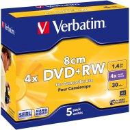 Verbatim 43565 DVD+RW 1.4GB 5ks