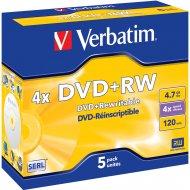 Verbatim 43229 DVD+RW 4.7GB 5ks